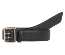 Jeans-Gürtel schwarz