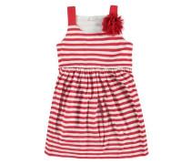 Kleid mischfarben / hellrot / weiß