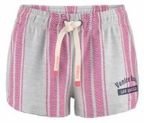 Strandshorts grau / pink