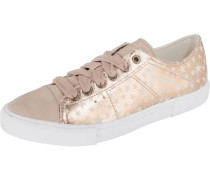 Sonetta Lace up Sneakers Low gold