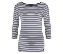 'Shirt mit 3/4-Arm' blau