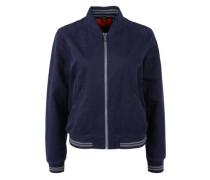 College-Jacke aus Baumwolle navy