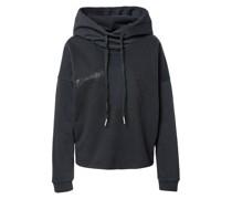 Sweatshirt 'Hoody Crop Boxy Horseshoe'