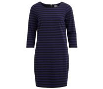 Kleid indigo / schwarz