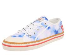 Sneaker weiß / blau / pastelllila