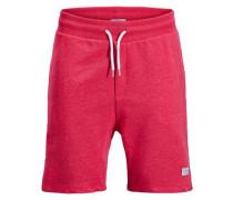 Klassische Sweatshorts rot