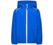 Softshell-Jacke Schlichte Alfa- blau / royalblau / weiß