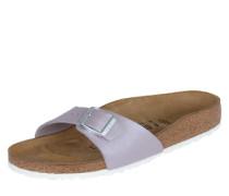 Sandale mit Fußbett und Kontrastsohle 'Madrid' flieder