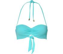 Bandeau Bikini Oberteil 'Ocean Love' aqua