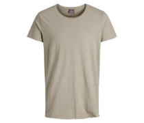 T-Shirt 'jorbas TEE SS U-Neck Noos' beige