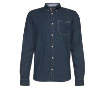 Denimhemd 'Ray solid shirt' blue denim / dunkelblau