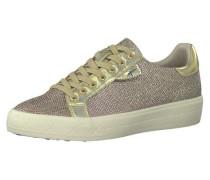 Sneakers Low brokat / gold