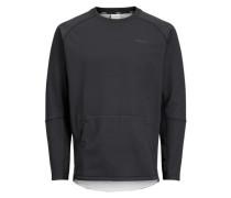sportliches Sweatshirt schwarz
