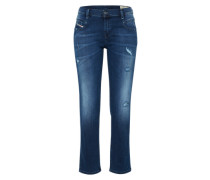 'Belthy' Straight Denim blau