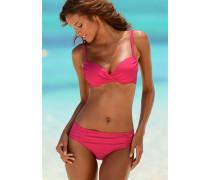 Wattierter Bügel-Bikini pink
