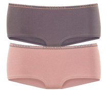 Panty (4 Stück) grau / altrosa