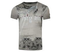 Cooles T-Shirt mit Allover- Print