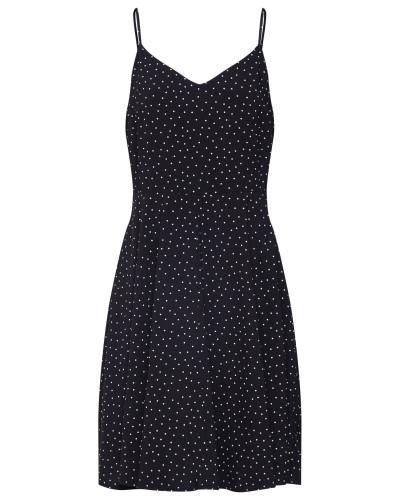 Kleid 'cami' schwarz / weiß