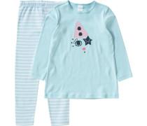 Schlafanzug pastellblau