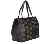 Shopping Iraclia Log Shopper Tasche 33 cm schwarz