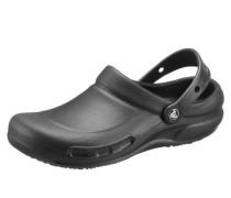 Clog mit geschlossenem Fußbereich schwarz