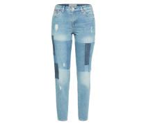 Loosefit-Jeans 'Liv Recycled Denim' blue denim