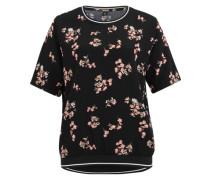 T-Shirt-Bluse 'Destina 3' rosé / schwarz