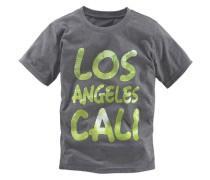 "T-Shirt ""los Angeles Cali"" für Jungen grau"