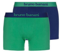 Boxer 'Flowing' (2 Stück) dunkelblau / grün