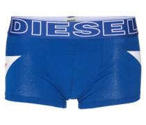 Pants mit Print 'UMBX-Damien' blau