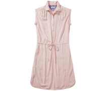 Kleid 'Basic shirt dress s/s 4' rosa