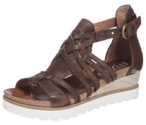 Sandaletten 'Tapas' braun
