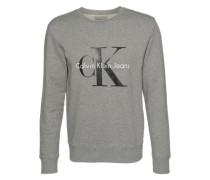 Sweatshirt 'hwk' graumeliert