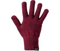 'milton Glove' Fingerhandschuhe rotviolett