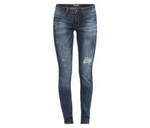 Skinny Jeans blau