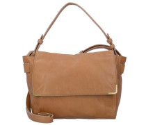 'Twentyone Messenger Bag' Tasche Leder 26 cm sand