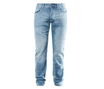 Rick Slim: Denim mit Knopfleiste blue denim