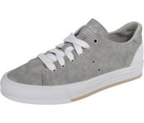 Sneakers Low 'Simona Lace up' grau / weiß