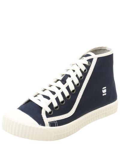 G-STAR RAW Damen Sneaker High  rovulc  navy   weiß Angebot Factory- ba020d45e9