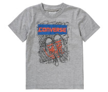 T-Shirt für Jungen grau / graumeliert