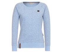 Sweatshirt 'Krokettovic' blau
