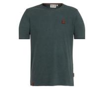 T-Shirt 'Dirty Italienischer Hengst' grün