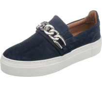 Sneakers Low blau / silber