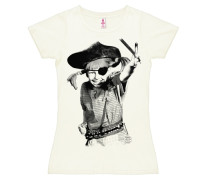 T-Shirt 'Pirate' weiß