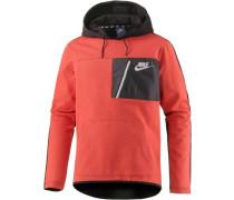 Sweatshirt 'av15' koralle / schwarz