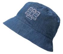 Hut blau / weiß