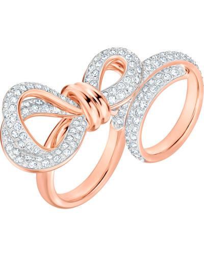 Ring 'Lifelong Bow' bronze / weiß