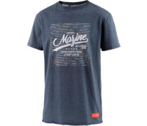 T-Shirt Herren marine