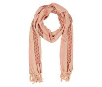 Schal aus Baumwolle 'w-Hasnaa' pfirsich / rosa