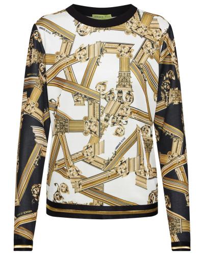 Sweatshirt 'tdm309 print' mischfarben